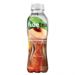 FUZE TEA PESCA ZERO PET 400 ML 12 PZ