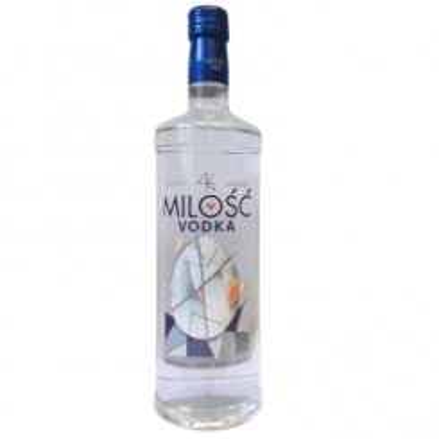 VODKA MILOSC WHITE 1 LT