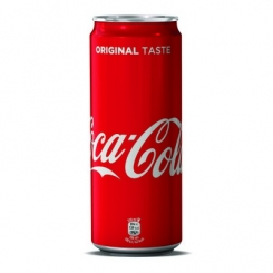 COCA COLA LAT 330 ML 24 PZ