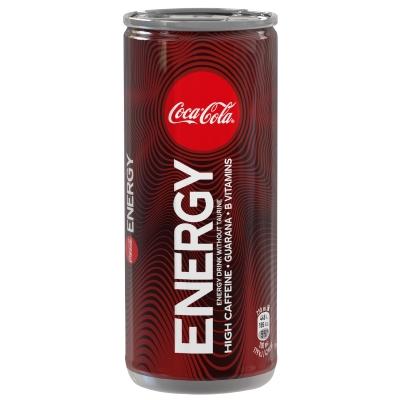 COCA COLA ENERGY LAT 250 ML 24 PZ